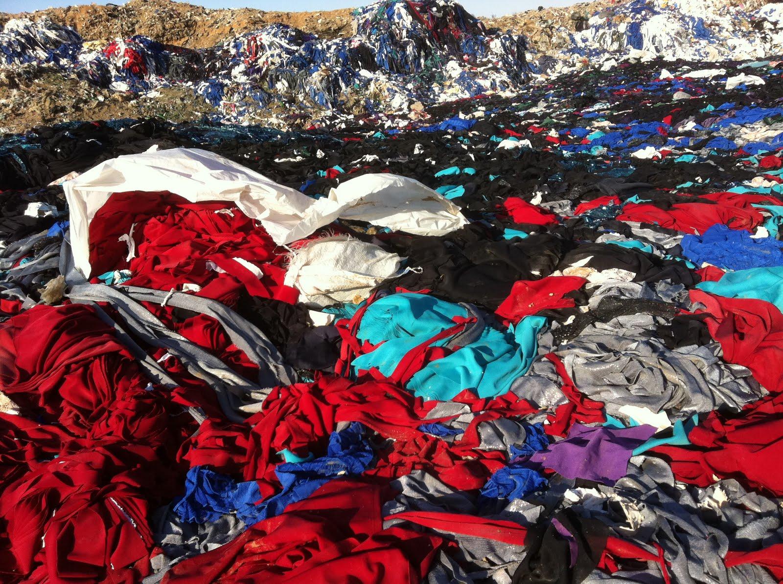 Textile Landfill